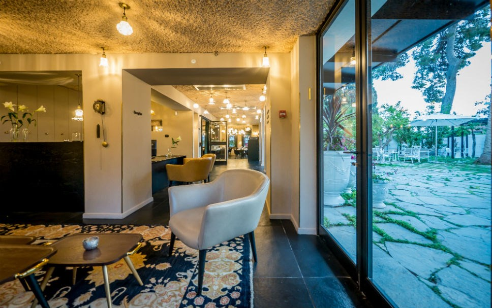 The lobby - Lear Hotel