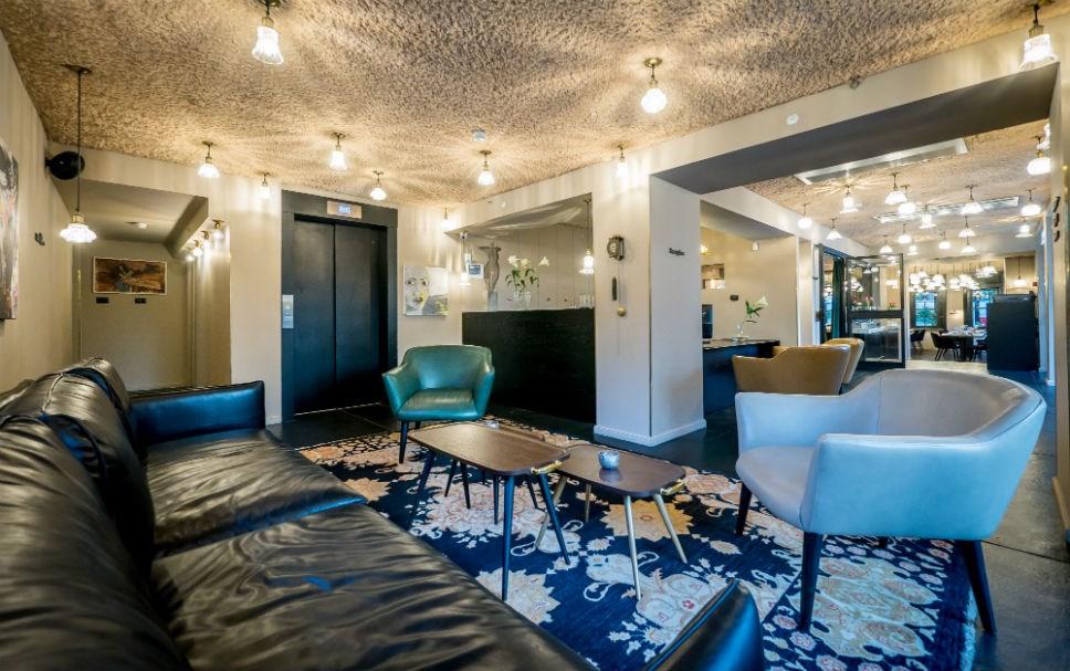 Lear Sense Hotel Gadera | The lobby